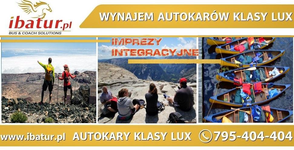 Wynajem autokarów klasy lux i busów na wyjazdy integracyjne  dla firm/ wyjazdy służnowe/ wyjazdy szkolne